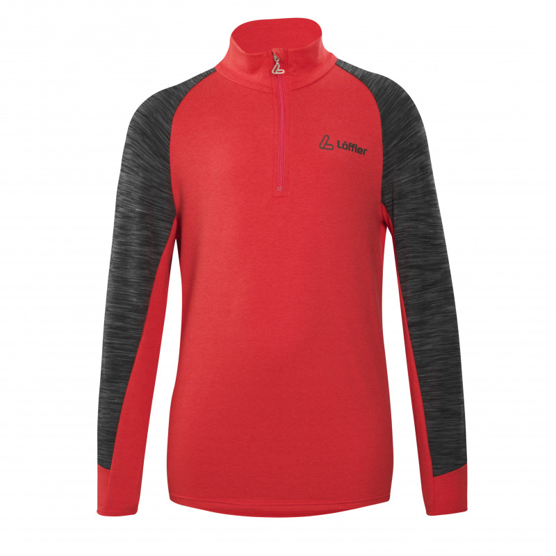 Löffler Robin Transtex® Langarmshirt für Kinder - rot