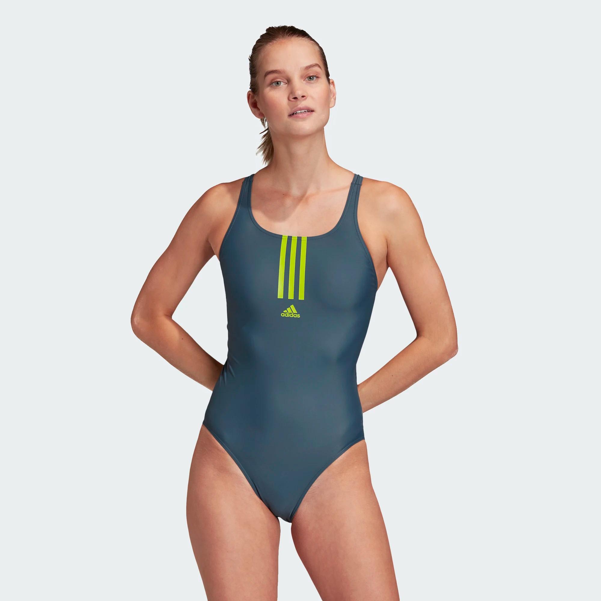 Adidas SH3.RO Mid 3-Streifen Badeanzug