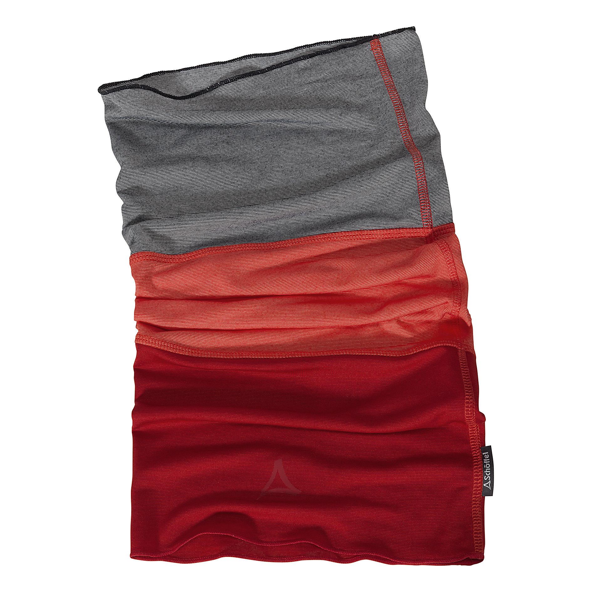SCHÖFFEL Scarf Hornberg - rot/grau
