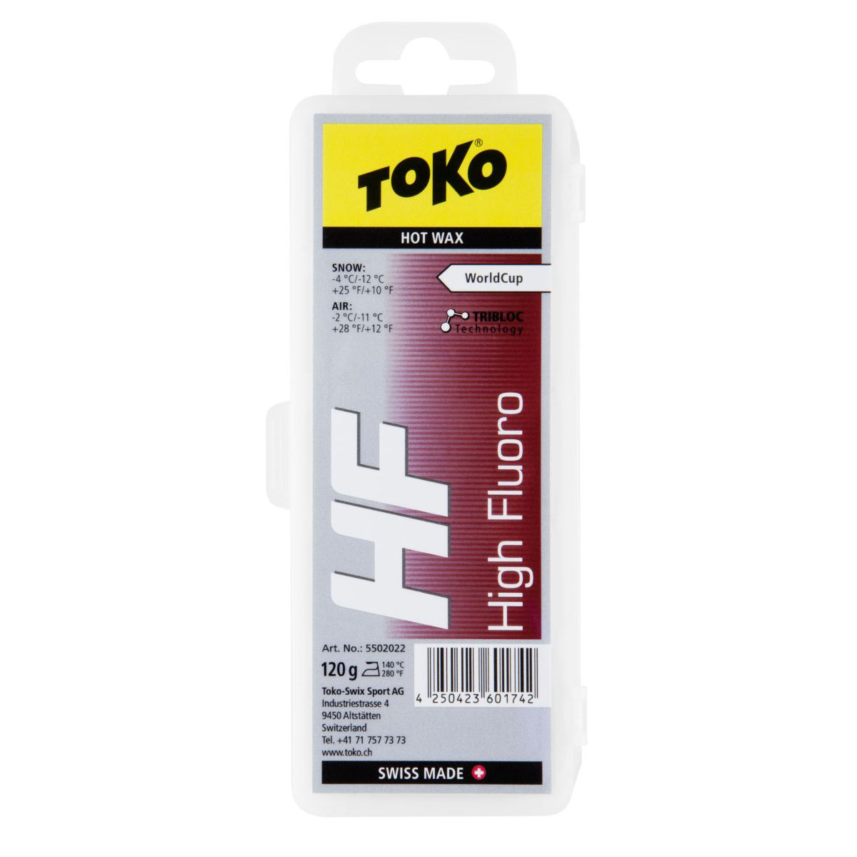 Toko HF Hot Wax Red 120g