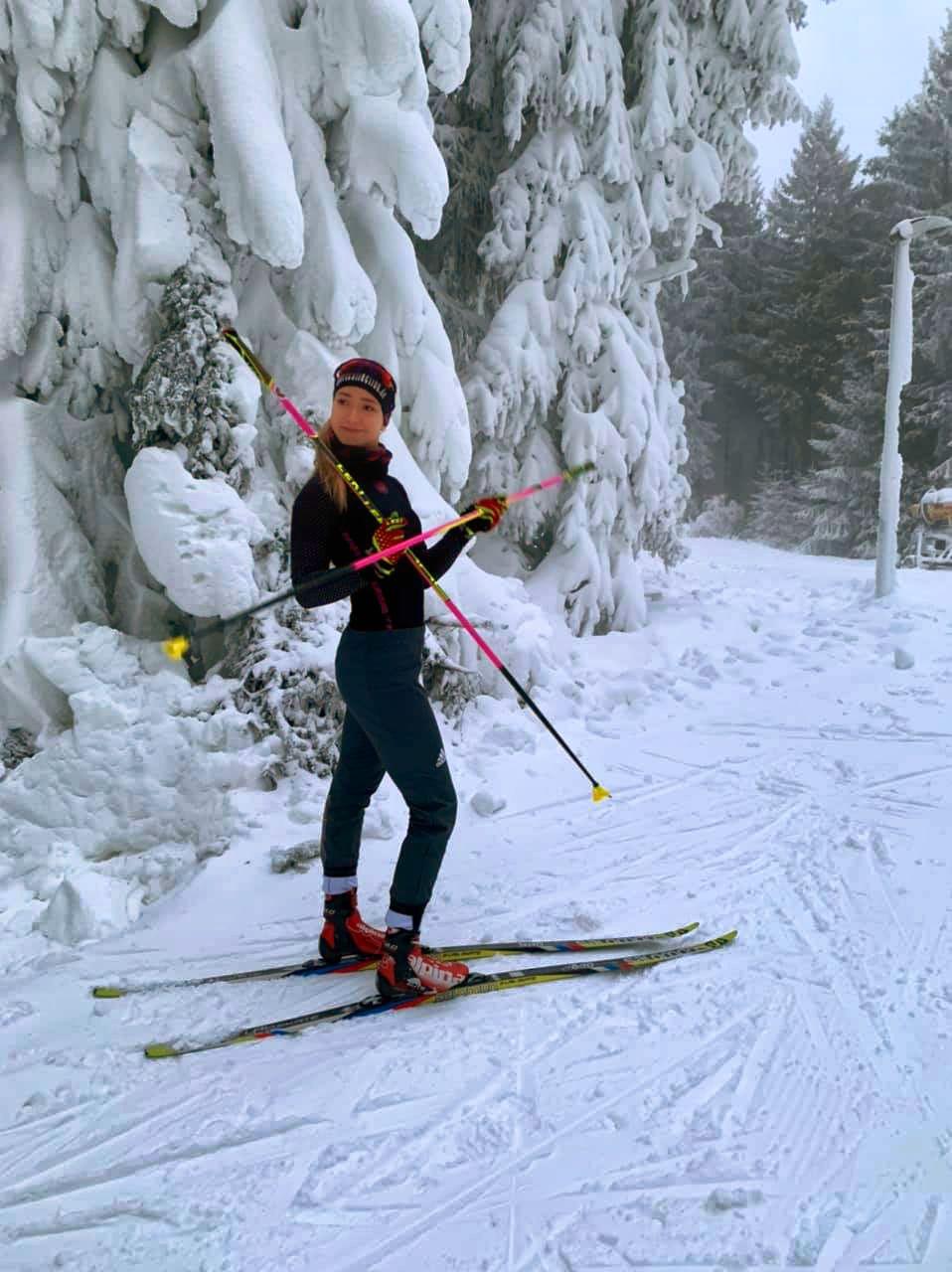 Biathletin Nathalie Aspasia Horstmann