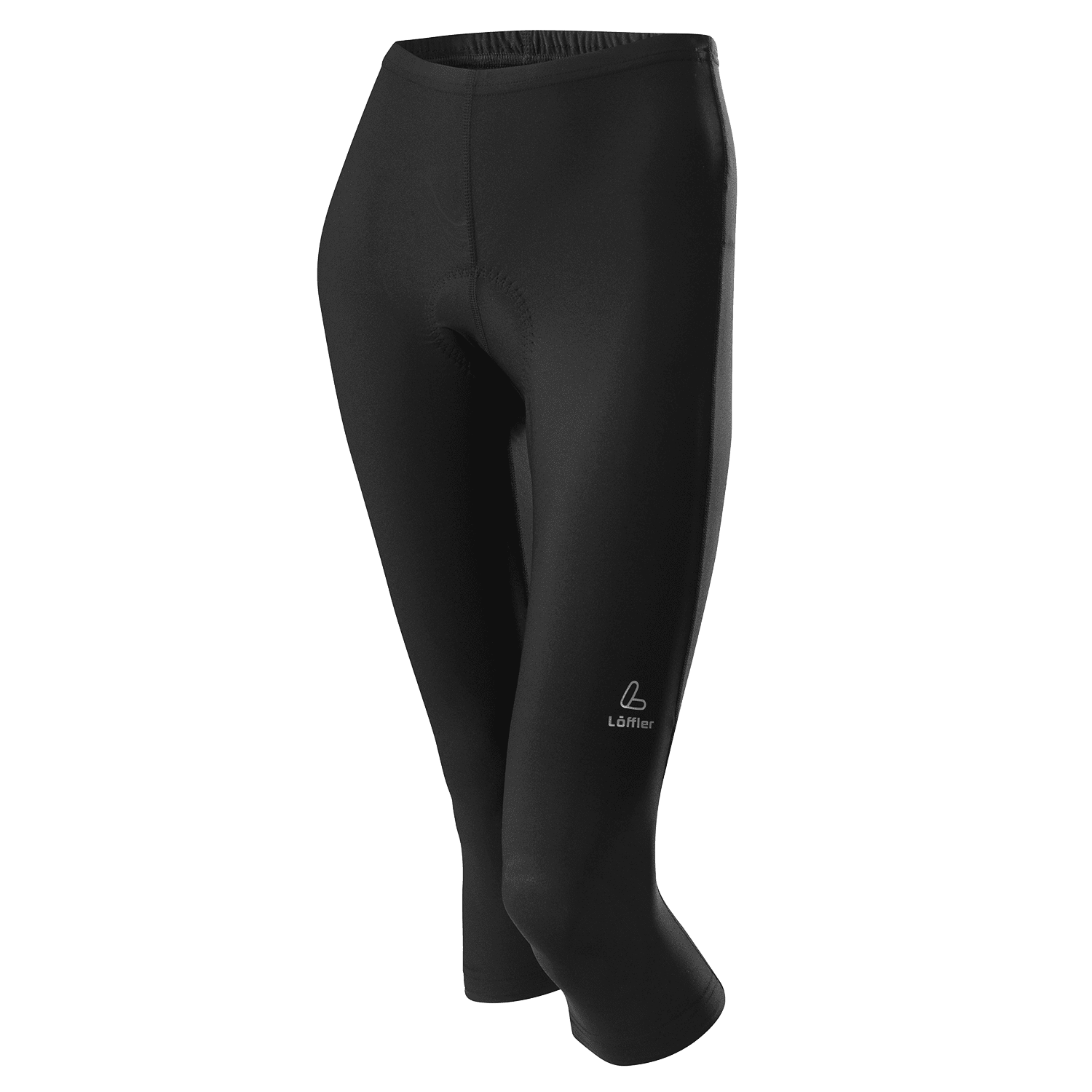 LÖFFLER Damen Bike Hose  3/4 TIGHTS BASIC