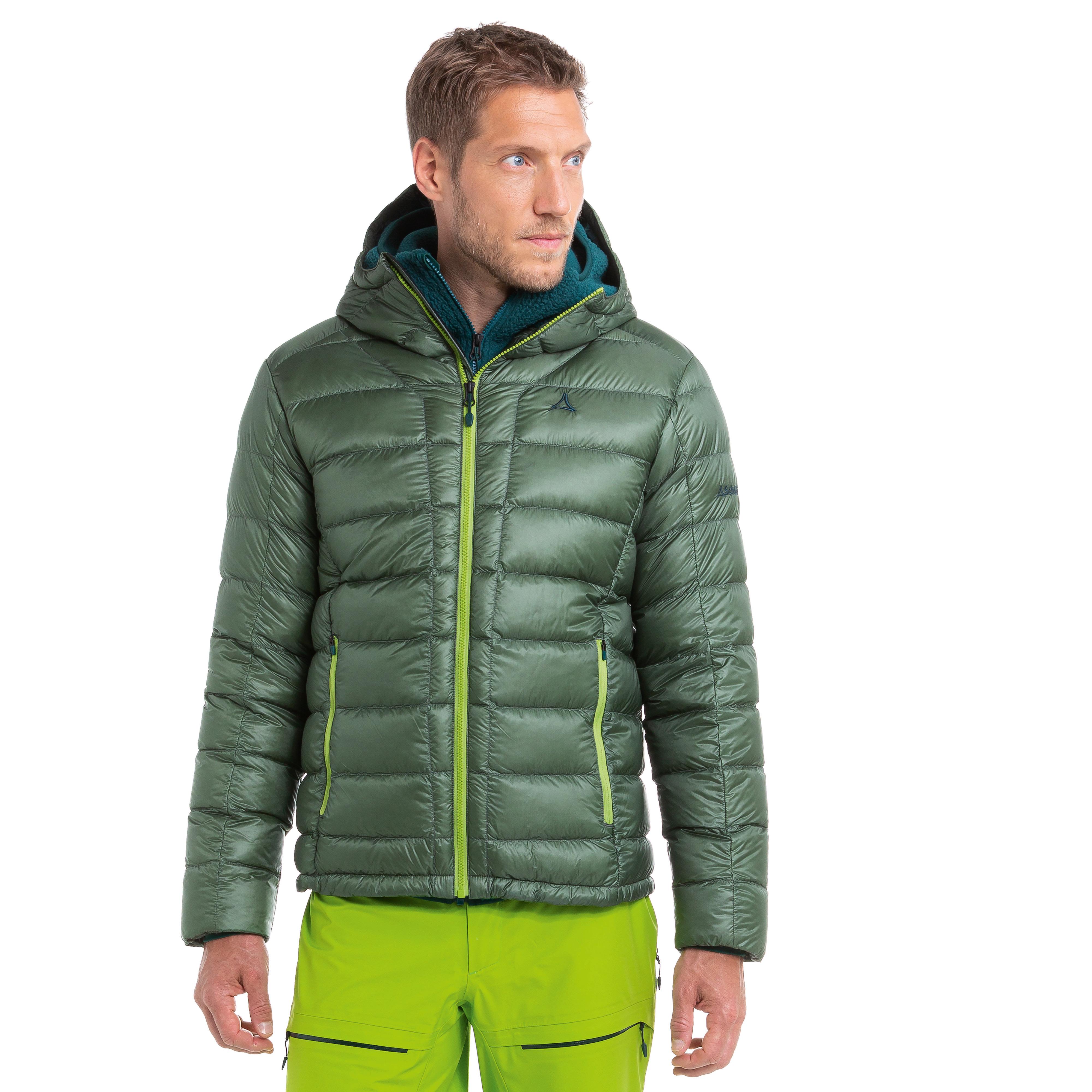 SCHÖFFEL Down Jacket Lodner M - grün