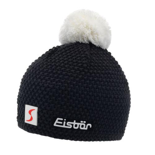Eisbär Jamie Pompon Mütze SP - schwarz