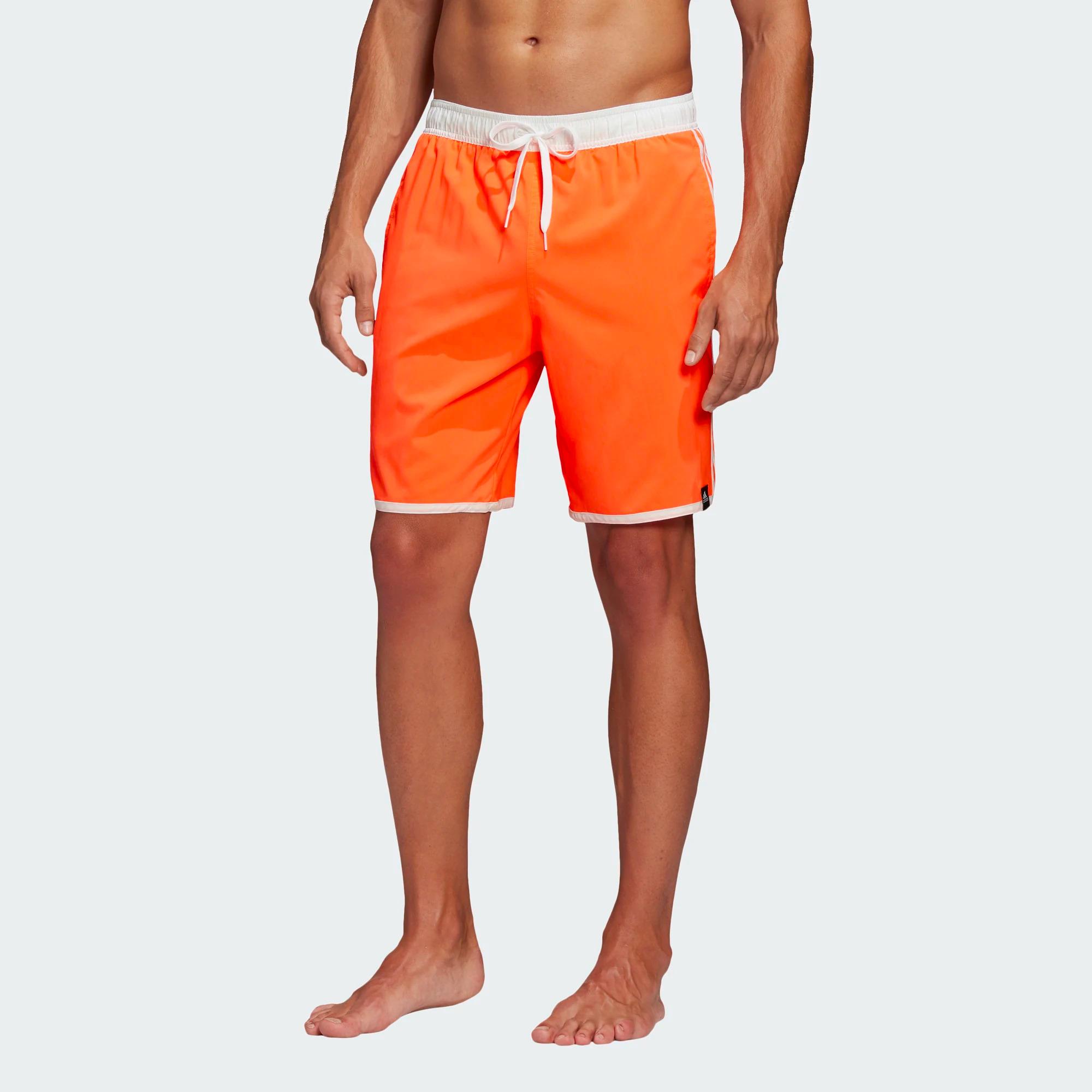 Adidas 3-Streifen CLX Badeshorts - apricot