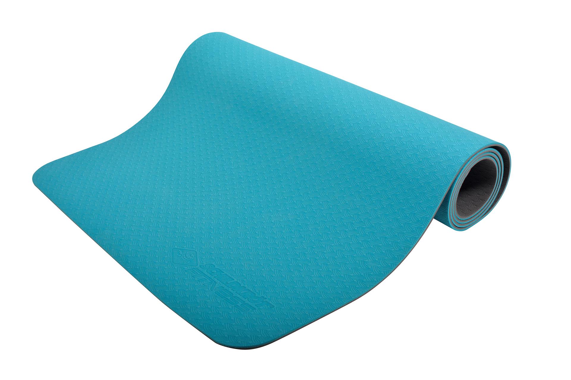 Bicolor Yogamatte im Carrybag