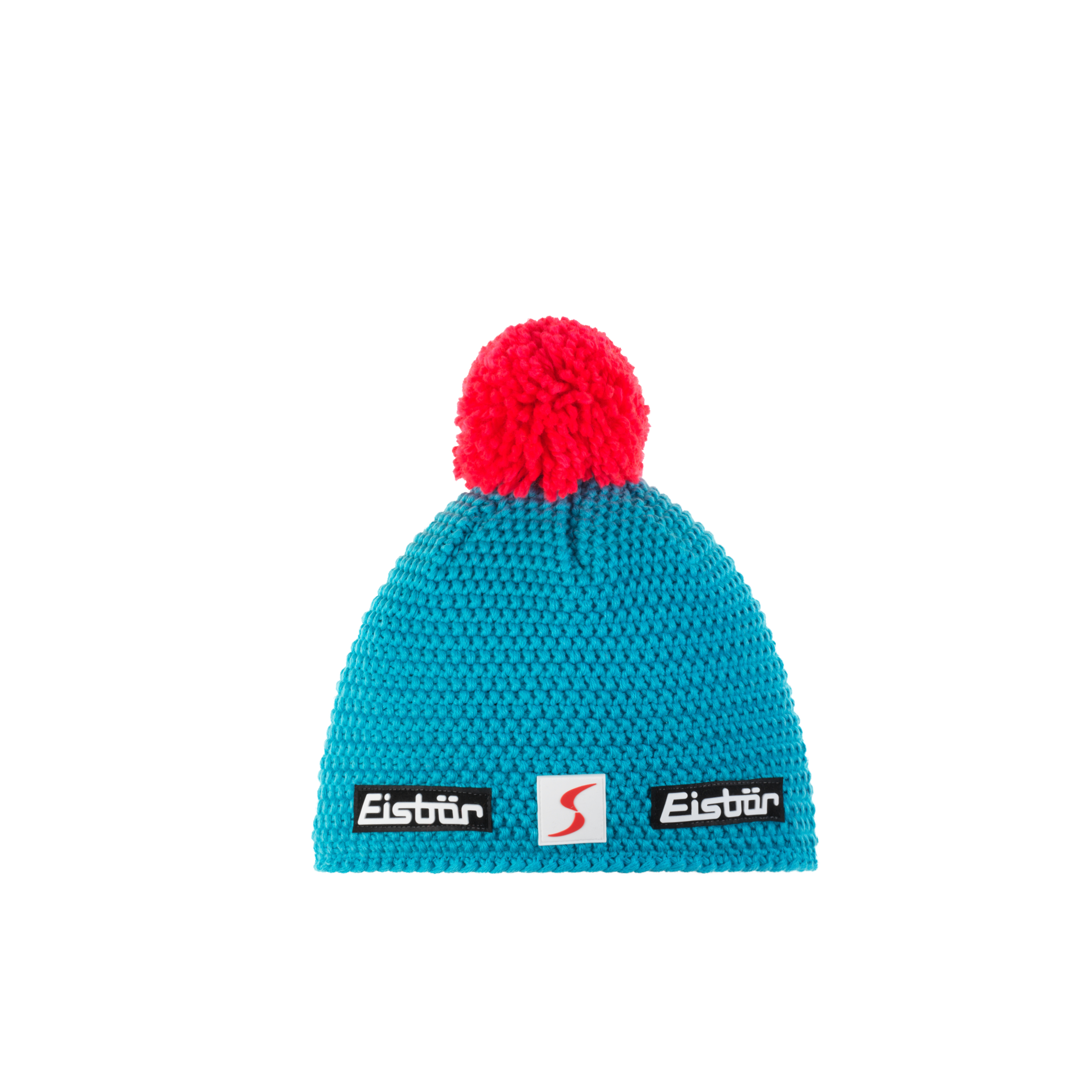 Eisbär Jamie Pompon Mütze SP - blau
