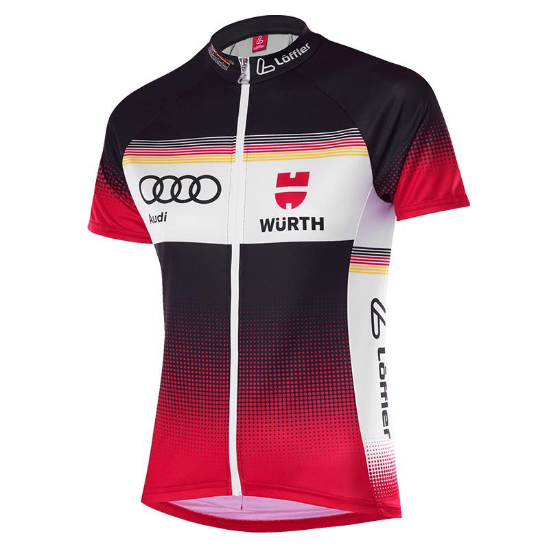 LÖFFLER Damen Bike DSV Teamtrikot Jersey Fullzip