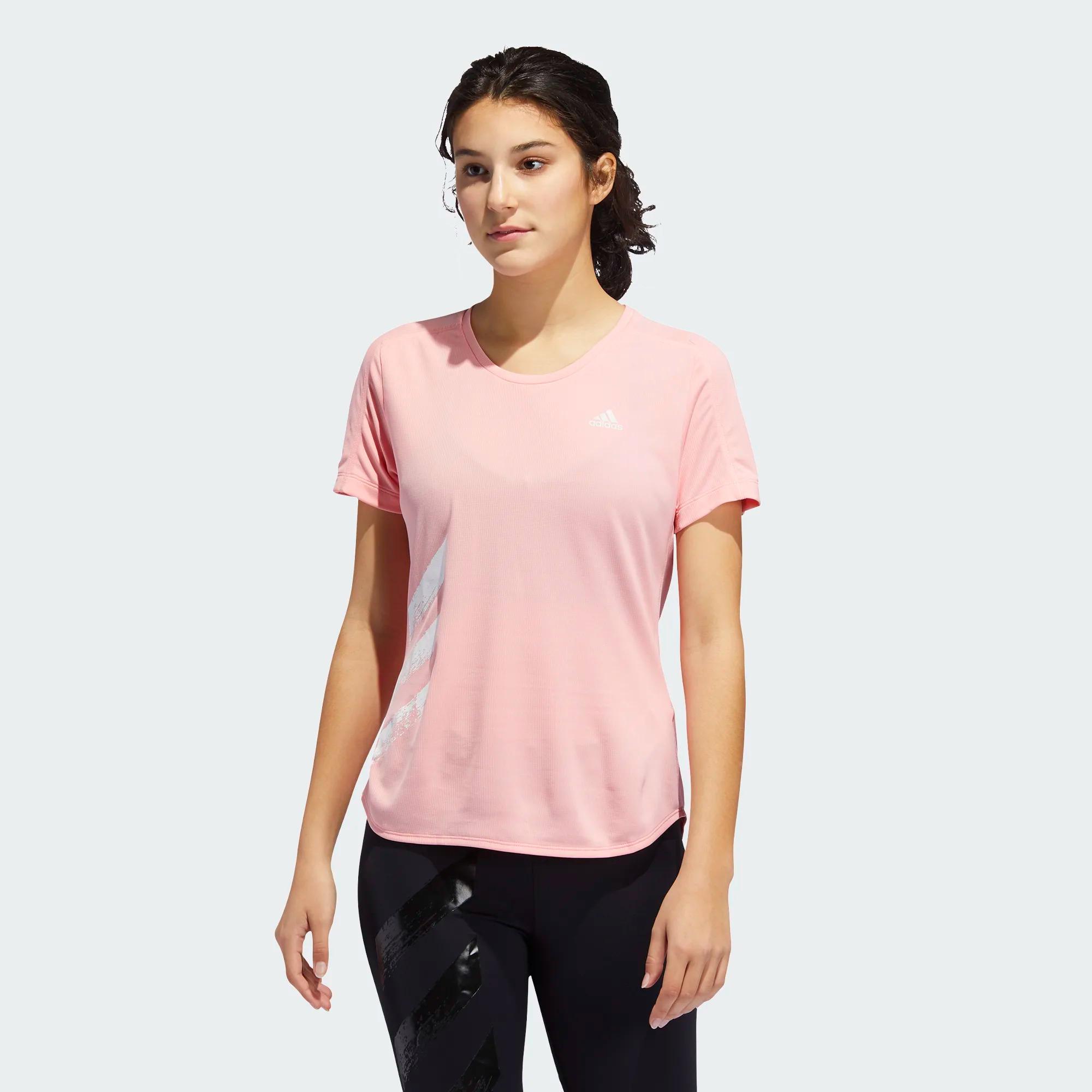 """Adidas """"RUN IT"""" 3-Streifen Laufshirt für Damen"""