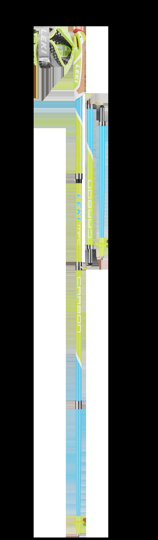 Leki Micro Flash Carbon - 115cm