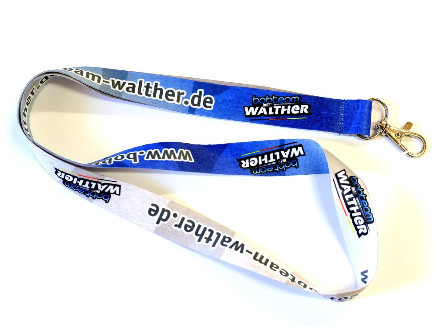 Schlüsselband Bobteam Walther