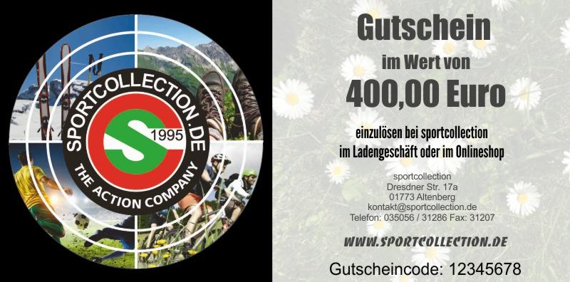 Gutschein 400 Euro