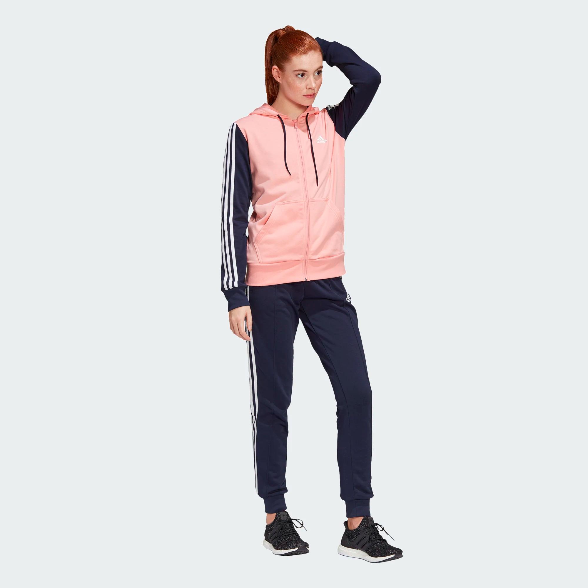 Adidas Energize Trainingsanzug Mädchen - pink/dunkelblau