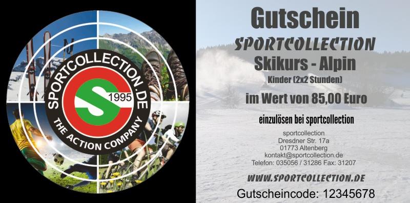 Gutschein 003 Skikurs Alpin Kinder