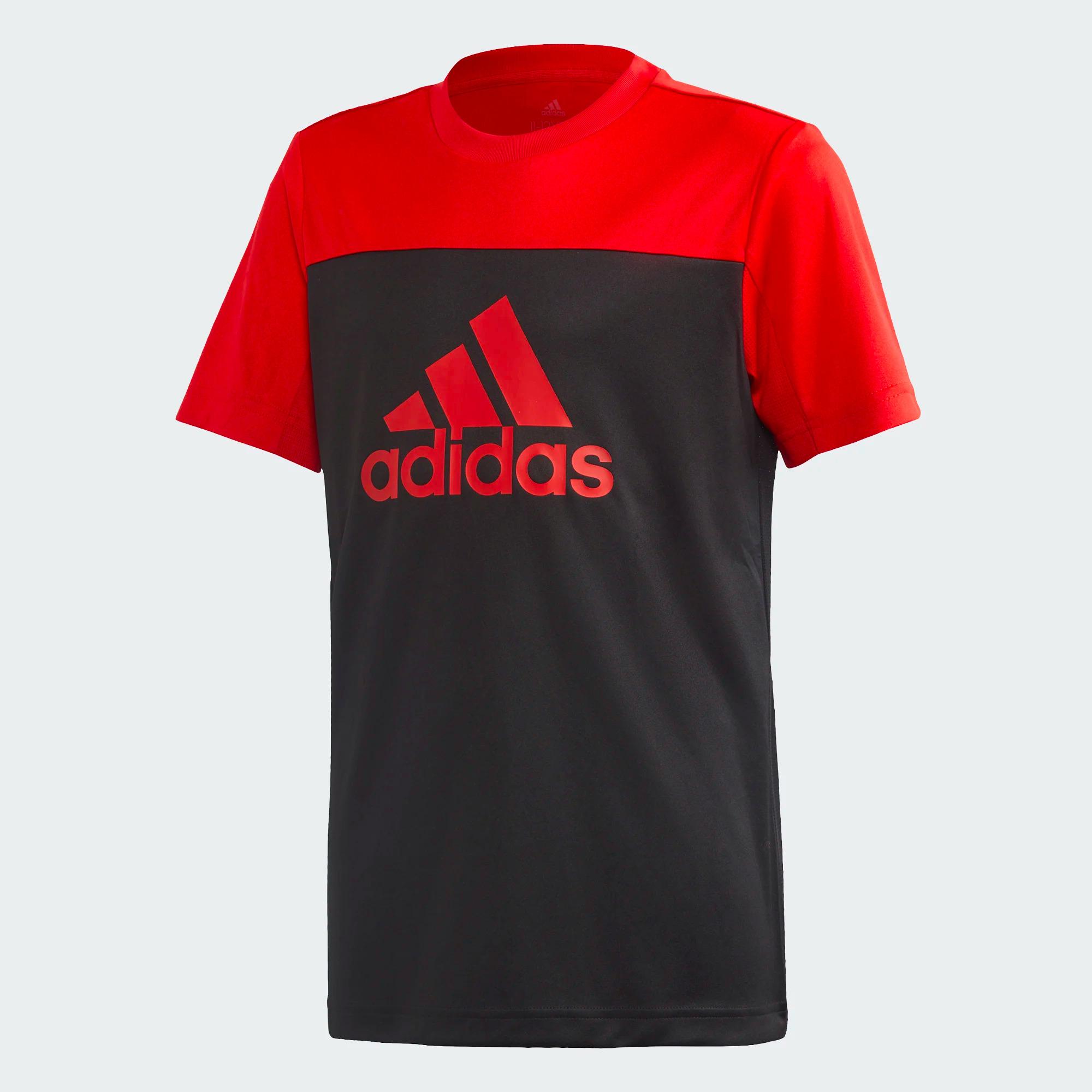 Adidas Kinder T-Shirt Equip - schwarz/rot