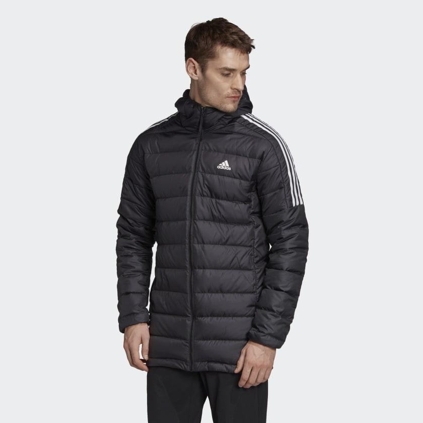 Adidas Daunenjacke aus recyceltem Polyester