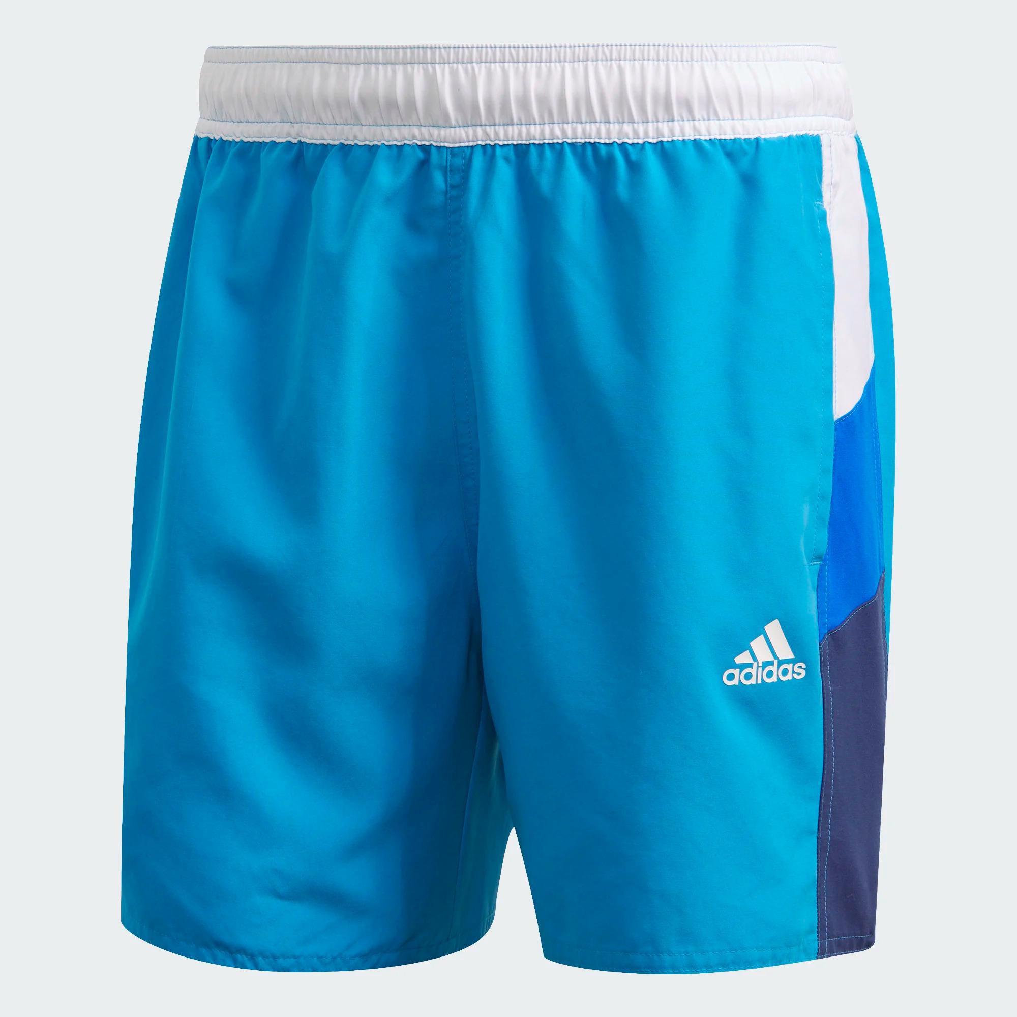 Adidas Colorblock CLX Badeshorts - cyan