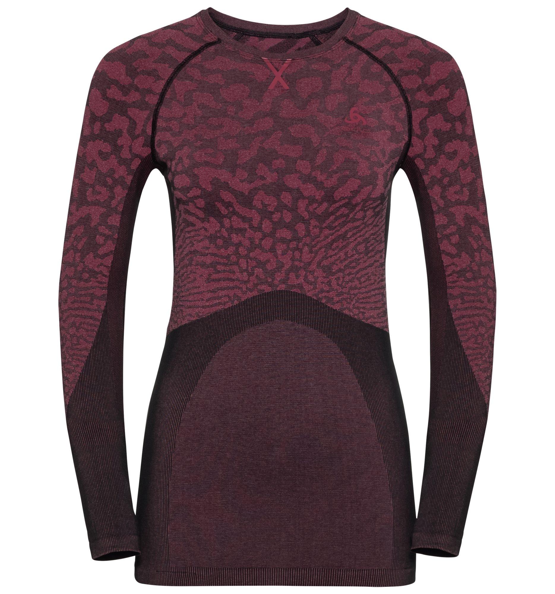 Odlo Damen BLACKCOMB Funktionsunterwäsche Langarm-Shirt - cerise