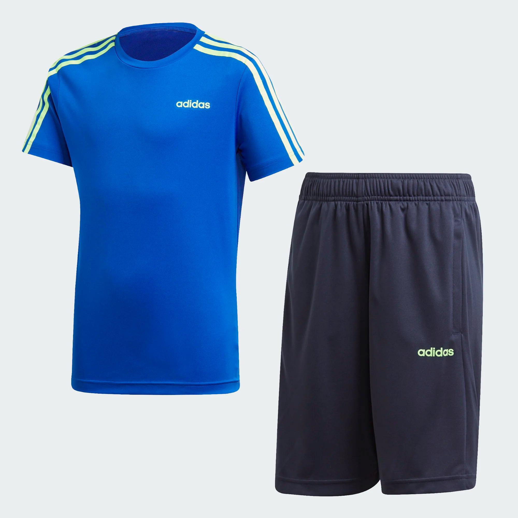 Adidas YTR 3 Stripes Set - Trainingsanzug