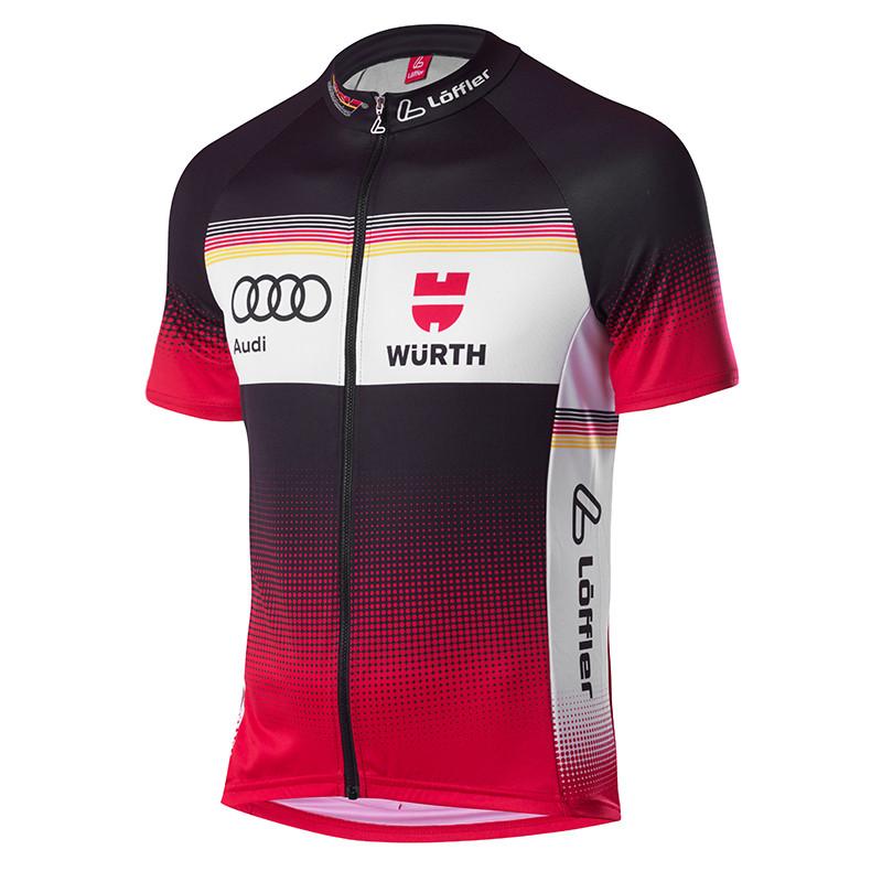 LÖFFLER Herren Bike DSV Teamtrikot Jersey Fullzip