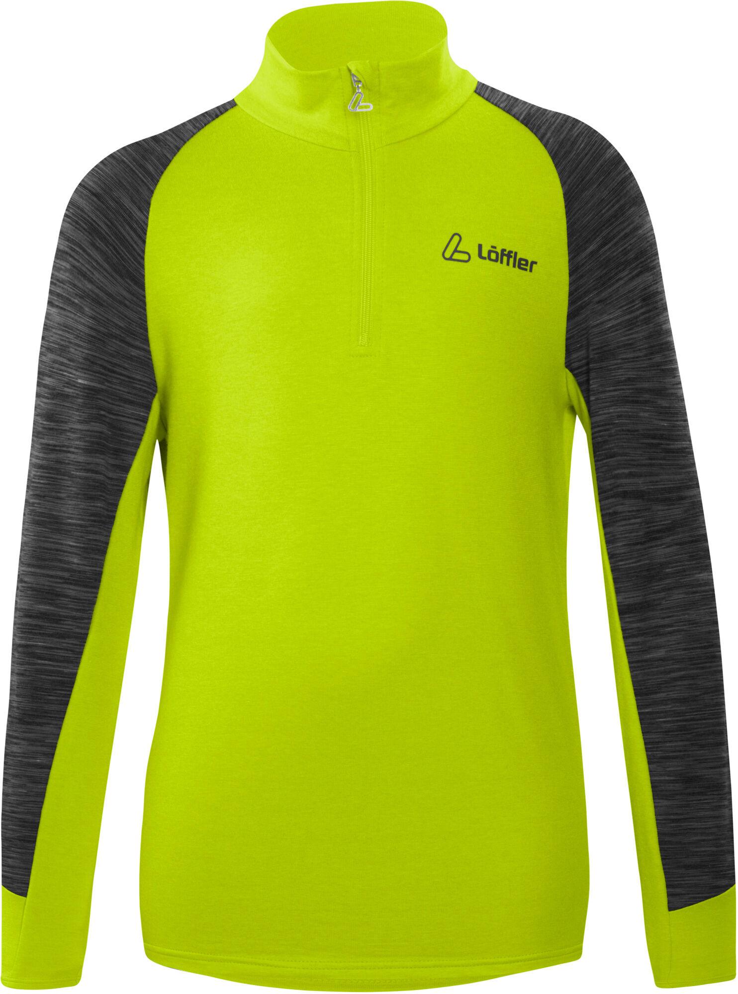 Löffler Robin Transtex® Langarmshirt für Kinder - neon
