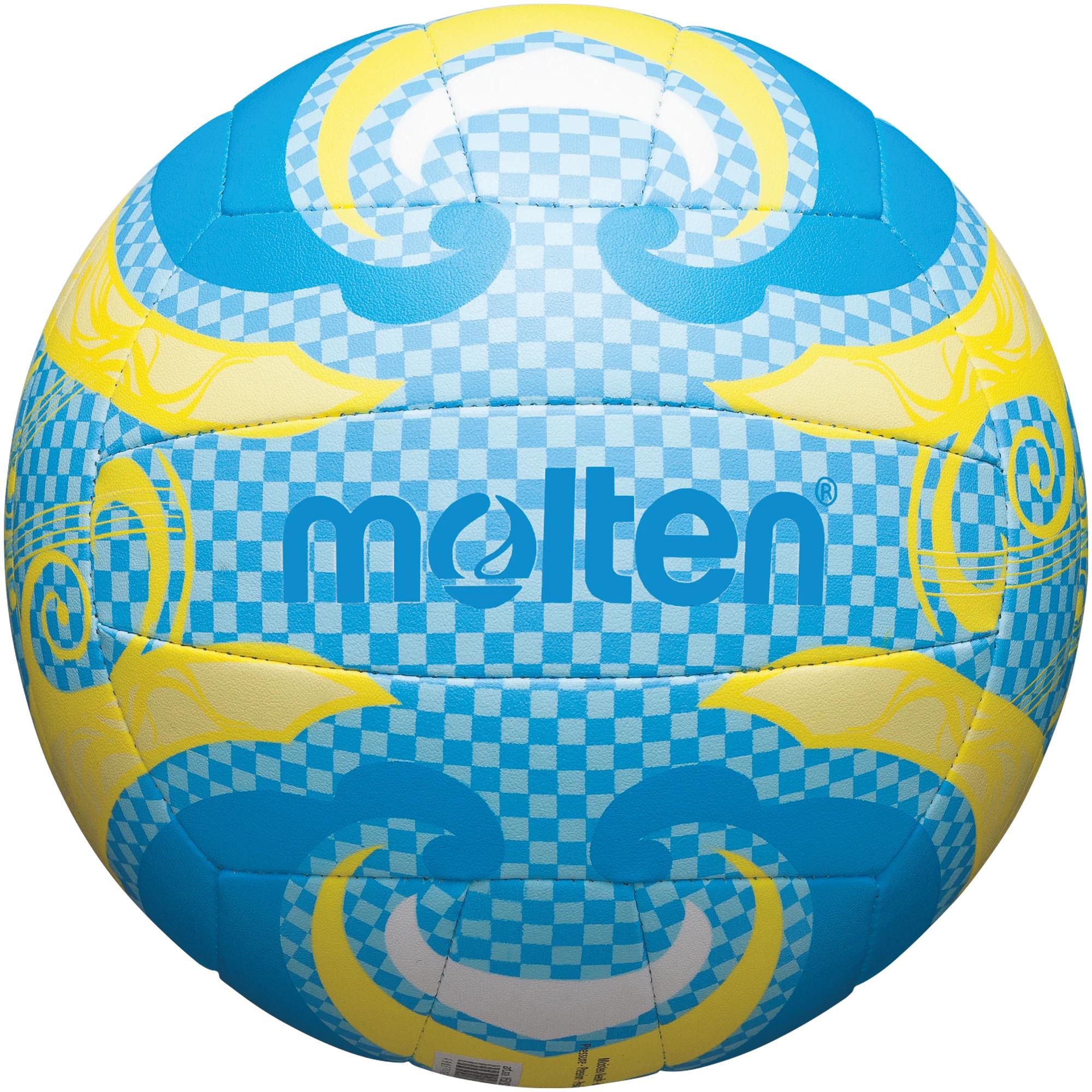 Molten Freizeit Beachvolleyball -  blau/gelb