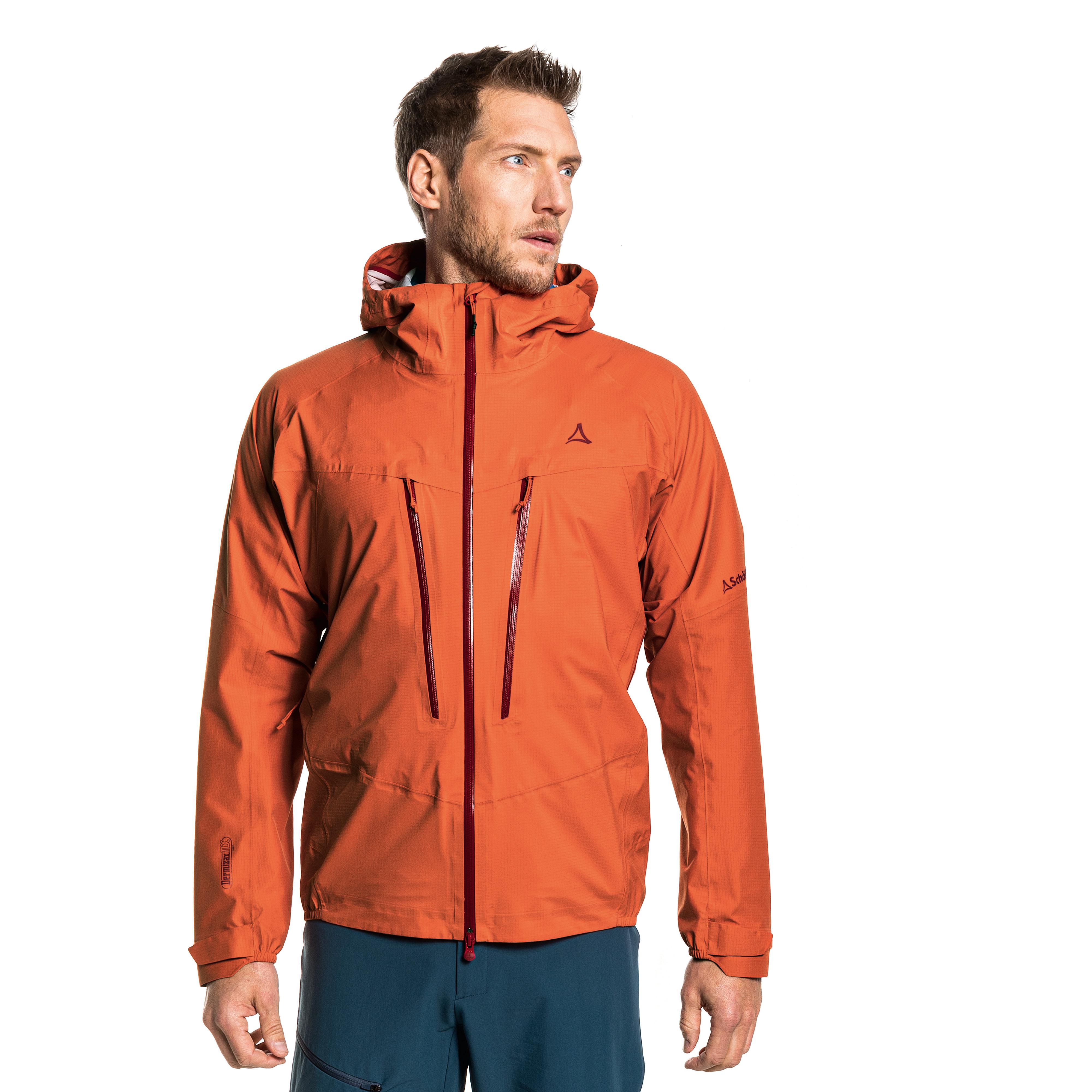 SCHÖFFEL 3L Jacket Rothorn M - orange