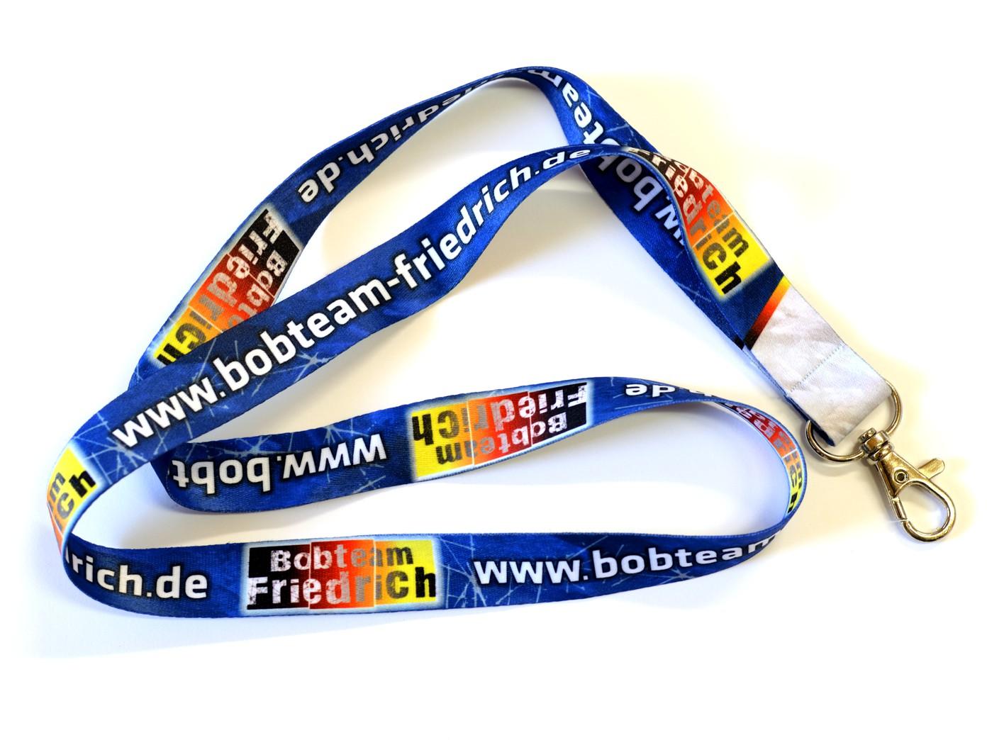 Schlüsselband Bobteam Friedrich