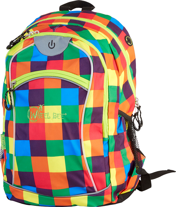 Wheel-Bee® LED-Backpack Night Vision