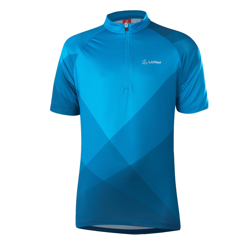 Löffler K Bike Jersey HZ - blau