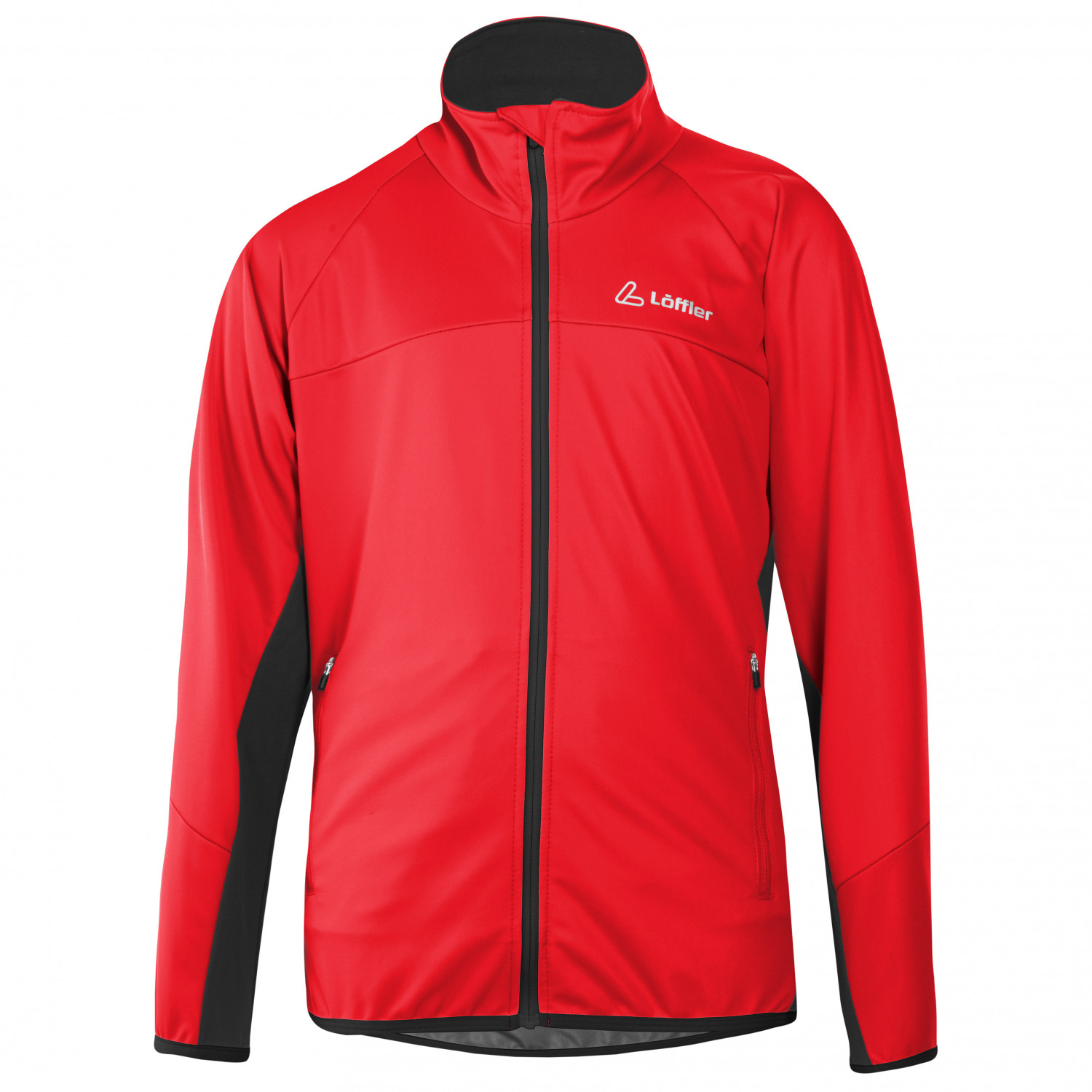 Löffler ALPHA WS LIGHT Softshelljacke für Kinder - rot