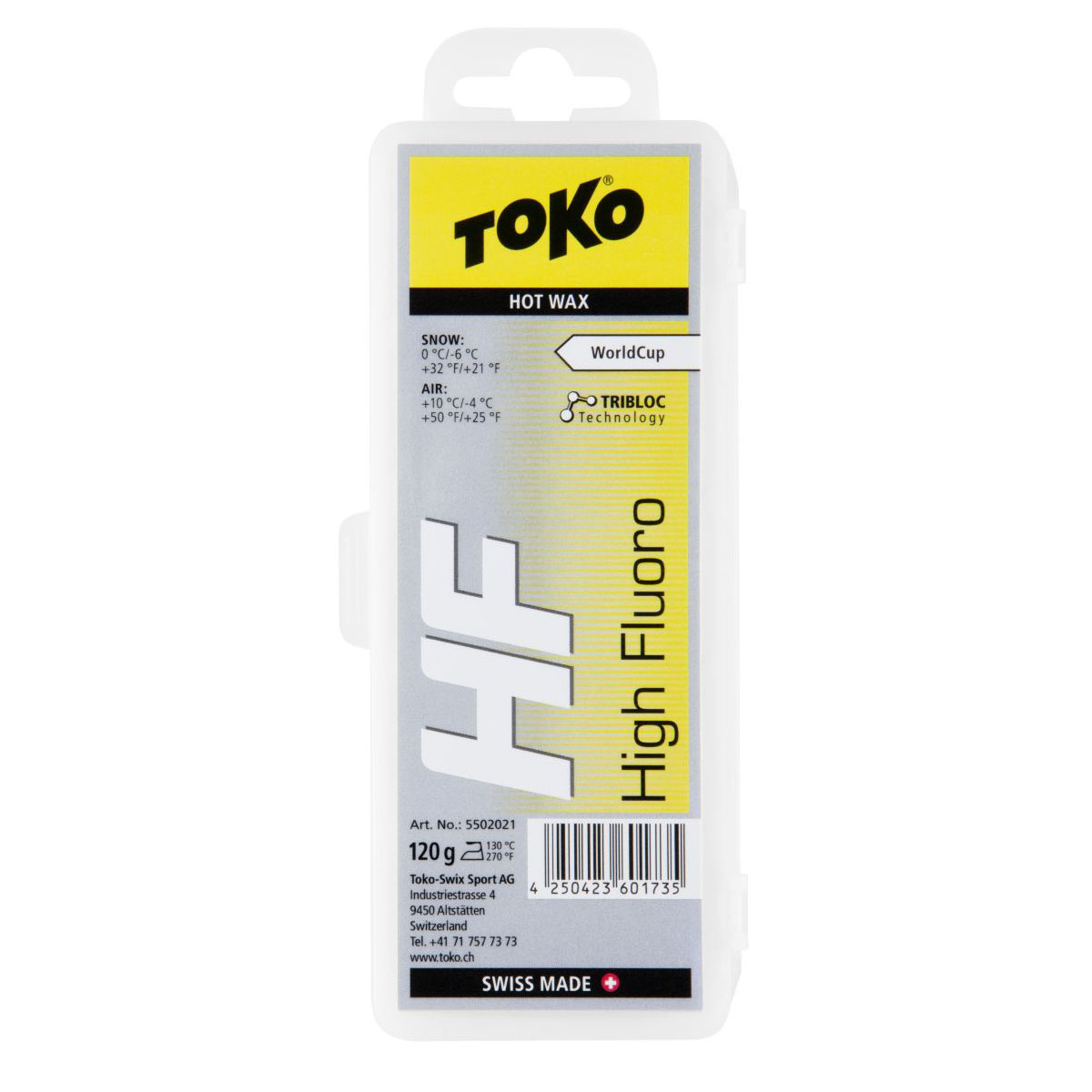 Toko HF Hot Wax Yellow 120g